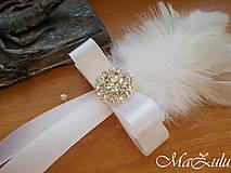 Pierka - svadobné pierko pre ženícha - 10345437_