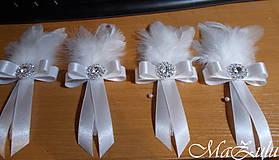 Pierka - svadobné pierko pre ženícha - 10346440_