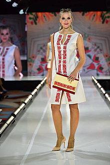 Šaty - DRUHÉ... zo špeciálnej kolekcie šiat na módnu prehliadku s Lýdiou Eckhardt - 10347946_
