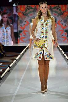 Šaty - ŠIESTE.. zo špeciálnej kolekcie šiat na módnu prehliadku s Lýdiou Eckhardt - 10347960_