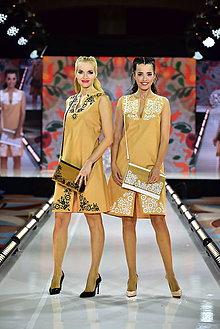 Šaty - ŠTVRTÉ.. zo špeciálnej kolekcie šiat na módnu prehliadku s Lýdiou Eckhardt - 10347963_