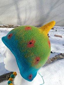 Čiapky - Kozmická čiapka - 10344665_