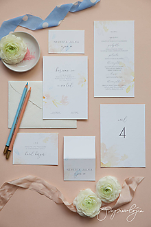 Papiernictvo - Svadobné oznámenie Mignon - 10344116_