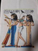Obrazy - Vysívaný Egypt - 10347172_