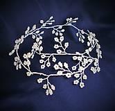 Ozdoby do vlasov - Girlanda z perličiek - 10345893_
