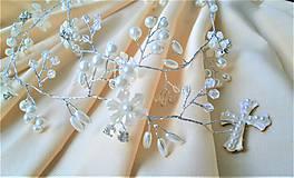 Ozdoby do vlasov - Girlanda z perličiek - 10346333_