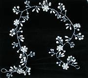 Ozdoby do vlasov - Girlanda z perličiek - 10346694_