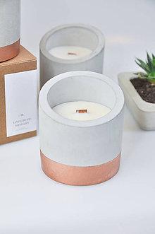 Svietidlá a sviečky - Beton - Kadidlo, Myrha - 10347400_