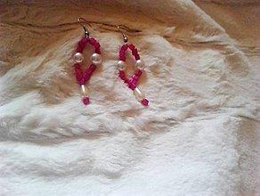 Náušnice - Romantické náušnice s perličkami - 10346083_
