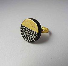 Prstene - Tana šperky - keramika/zlato - 10347191_