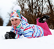 Detské čiapky - Pestrofarebný set pre malé slečny UNI veľkosť - 10344327_