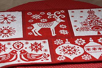 Úžitkový textil - Obrus. Vianočný gobelínový. - 10347171_