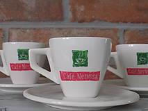 Espresso šálka s podšálkou - Nervosa