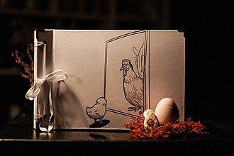 Papiernictvo - Fotoalbum klasický polyetylénový obal s potlačou ,,Kuriatkovský Dorian Grey,, - 10343975_