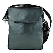 Tašky - Luxusná kožená etuja z hovädzej kože, čierna farba - 10346861_