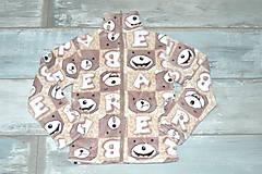 Detské oblečenie - Macíková mikinka - 10347268_