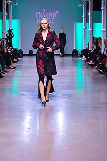 Kabáty - Kolekcia Inšpirácie - modrotlač - 10344445_