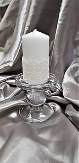 Sviečka ručne zdobená