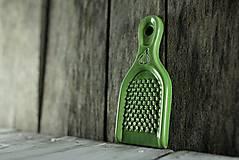 Pomôcky - Struhadlo na česnek - zelené - 10345864_