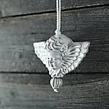 Dekorácie - Anděl rustik - 10346056_
