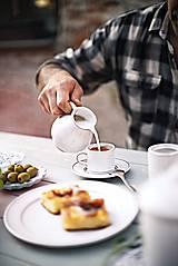Nádoby - Podšálek pod espresso rustik - 10346394_