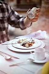 Nádoby - Dezertní talíř rustik - 10346782_