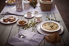 Nádoby - Dezertní talíř rustik - 10346786_