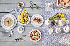 Nádoby - Dezertní talíř rustik - 10346792_