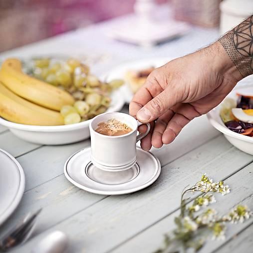 Nádoby - Hrnek espresso rustik - 10346347_