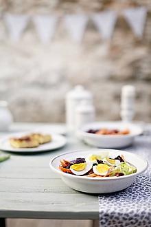Nádoby - Miska na salát / ovoce rustik - 10346719_
