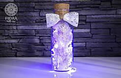 Svietidlá a sviečky - Svadobná lampička - 10344619_