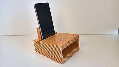 Na mobil - MDfone Razor - akustický drevený reproduktor - 10346696_