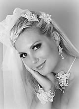 Ozdoby do vlasov - Svatební květy do vlasů - 10346796_