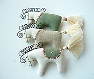 Dekorácie - Koníky - závesná dekorácia - 10346185_