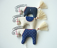 Dekorácie - Koníky - závesná dekorácia - 10346202_