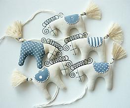 Dekorácie - Koníky - závesná dekorácia - 10346151_