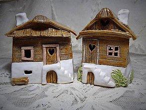 Dekorácie - keramika ..domček... - 10345079_