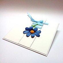 Papiernictvo - Pohľadnica ... ako modré nebo - 10350802_
