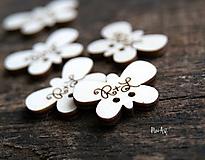 Pierka - Gombíčky v tvare motýlika na svadobné pierka - 10350486_