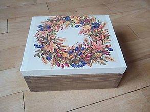 Krabičky - lesné plody krabička na čaje - 10348372_