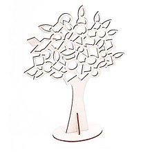 Polotovary - Stojan na náušnice, strom, 36x28 cm - 10348245_