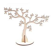 Polotovary - Stojan na náušnice, strom, 33x28 cm - 10348305_