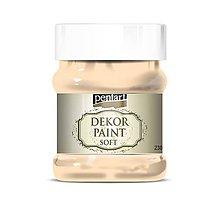 Farby-laky - Dekor paint soft - 230 ml, marhuľová - 10349903_