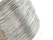 Komponenty - Drôt 0,3 mm /M9701/ - lesklý, mäkký - chirurg. oceľ 316L - 10351258_