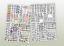 Papiernictvo - ELEKTRONICKÉ nálepky do diára - 10348650_