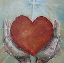 Obrazy - Dám Ti svoje srdce, Pane... - 10350128_