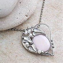 Náhrdelníky - THOMAS heart náhrdelník - 10349926_