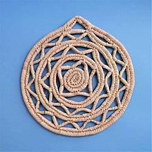 Pomôcky - Arabic trivet | Ručne pletená podložka - 10348857_
