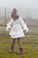 Detské oblečenie - Folková košieľka Tereza - 10349198_