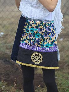 Sukne - Obojstranná sukňa